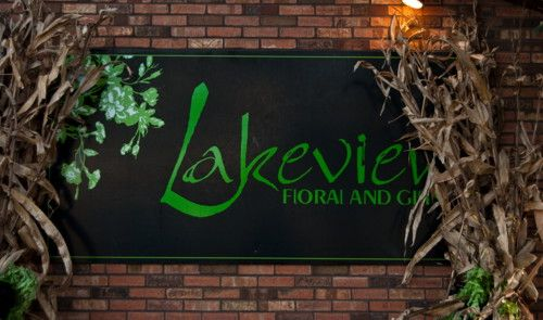 Lakeview indoor sign
