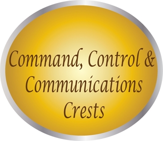 LP-4000 - Plaques of the Crests for Air Force  Command, Control & Communications Groups