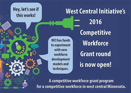 Competitive Workforce Grant round is now open