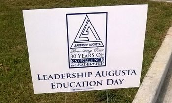 Leadership Augusta Yard Sign