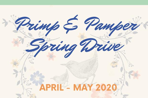 Primp & Pamper Spring Drive