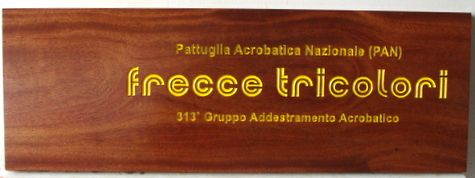 M3004 - Carved American Cherry Wood  Sign for Upscale Retail Store (Gallery 28A)