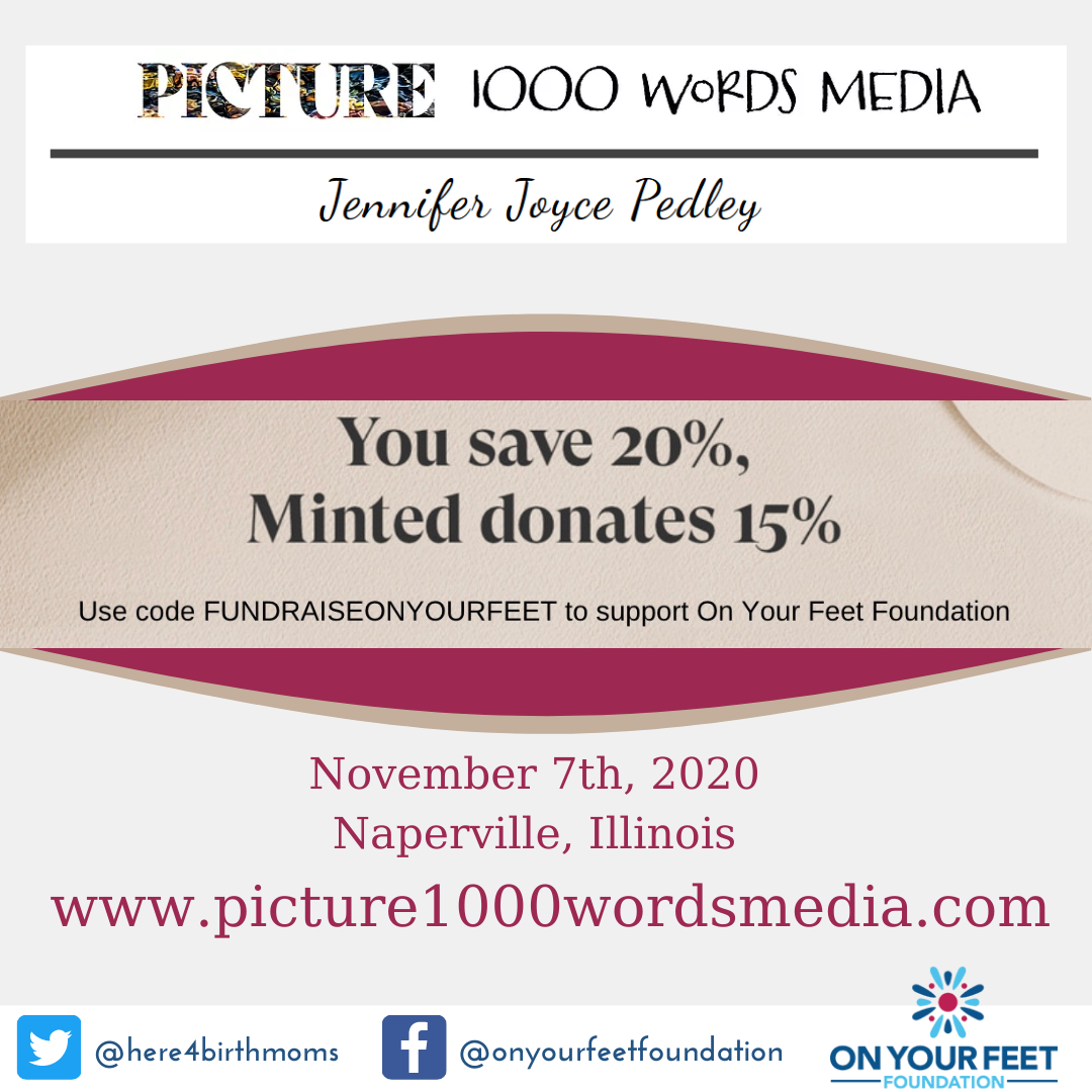 Photographer Jennifer Pedley Joins Our Minted Fundraiser