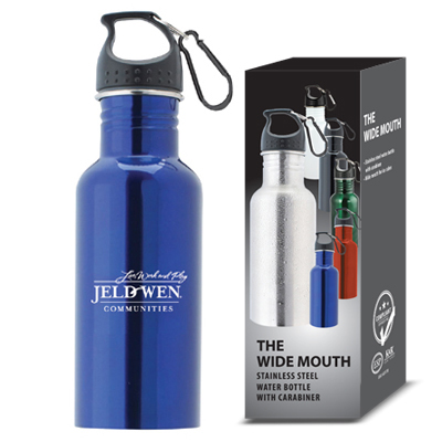 Promotional stainless steel water bottle, company logo water bottle