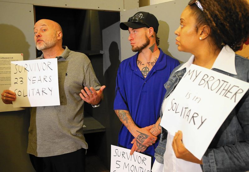 Lawsuit decries use of solitary confinement in Illinois prisons