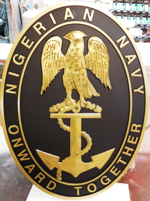 ME5130 -  Insignia of Nigerian Navy, 3-D