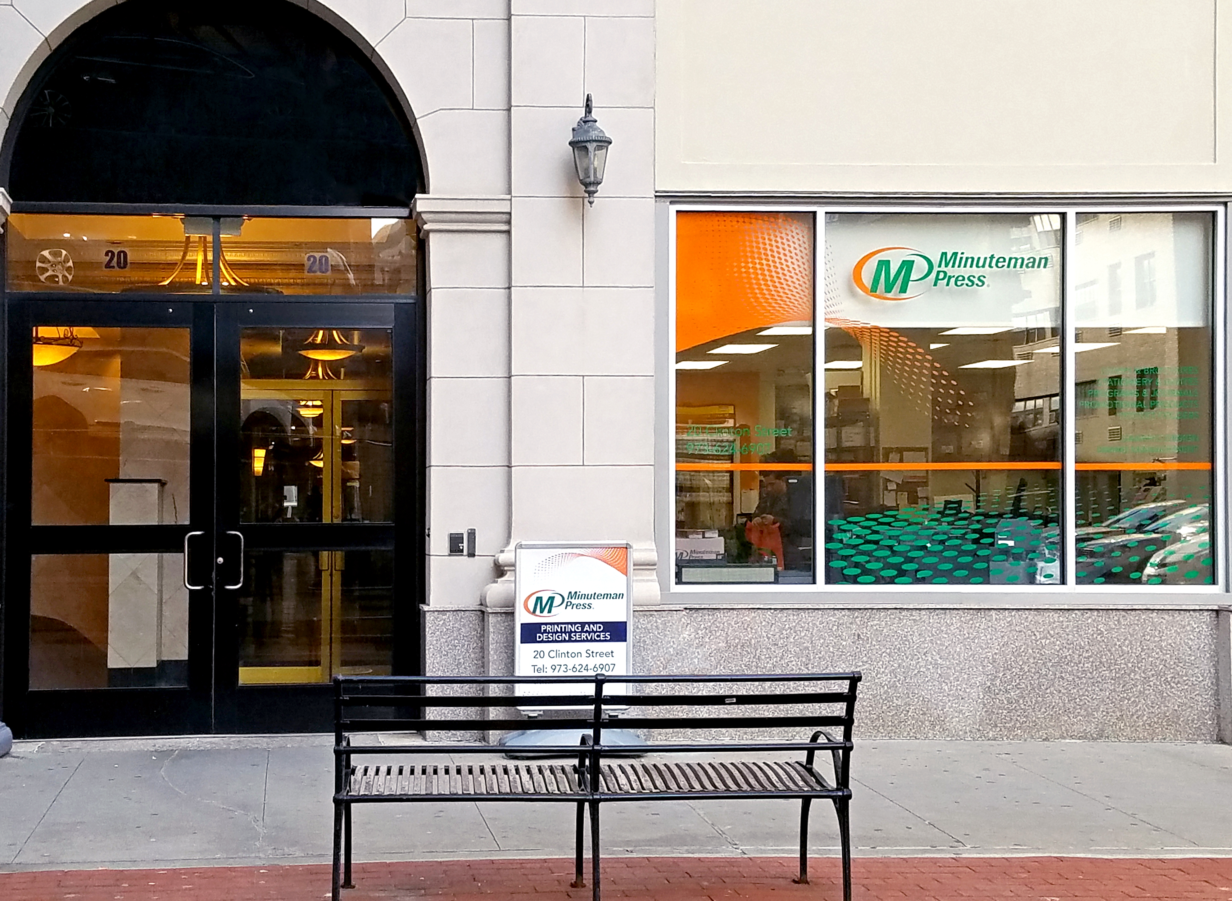 Minuteman Press Newark Store front