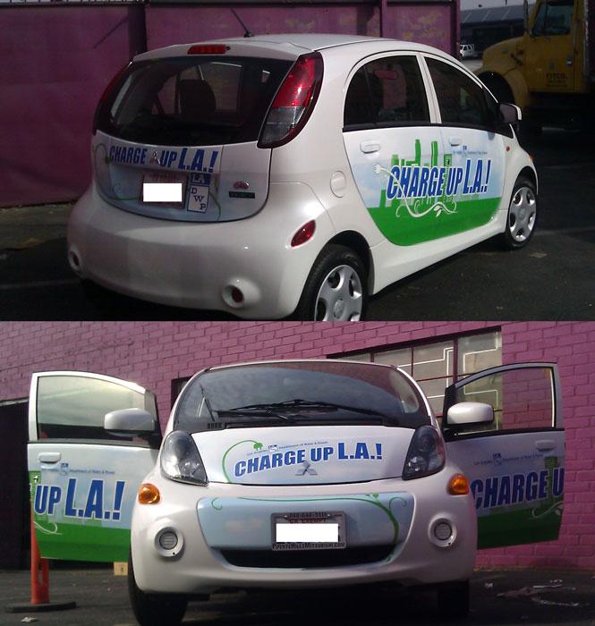 Charge Up LA Car