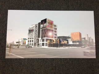 Architectural rendering prints for Orange County