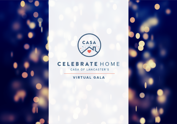 You're Invited to CASA's Celebrate Home Virtual Gala!