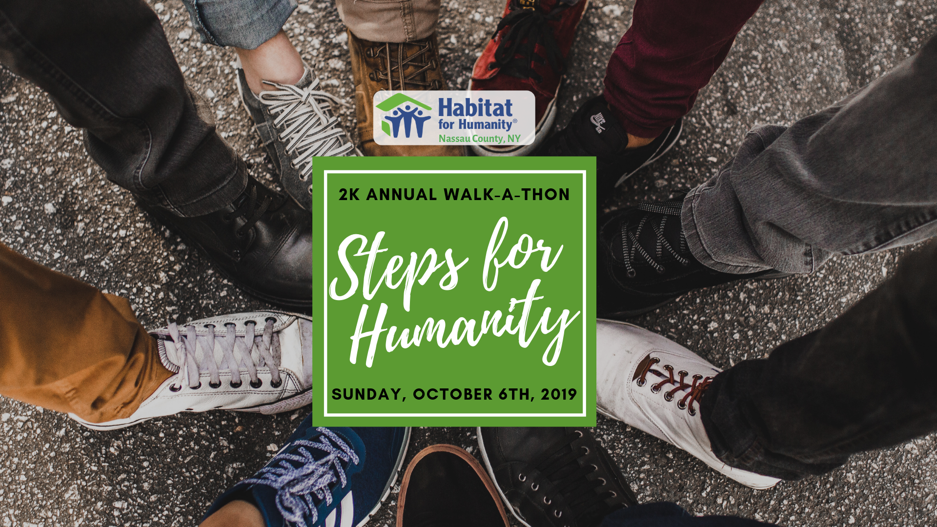 STEPS FOR HUMANITY! 2019 Annual 2K Walk-A-Thon