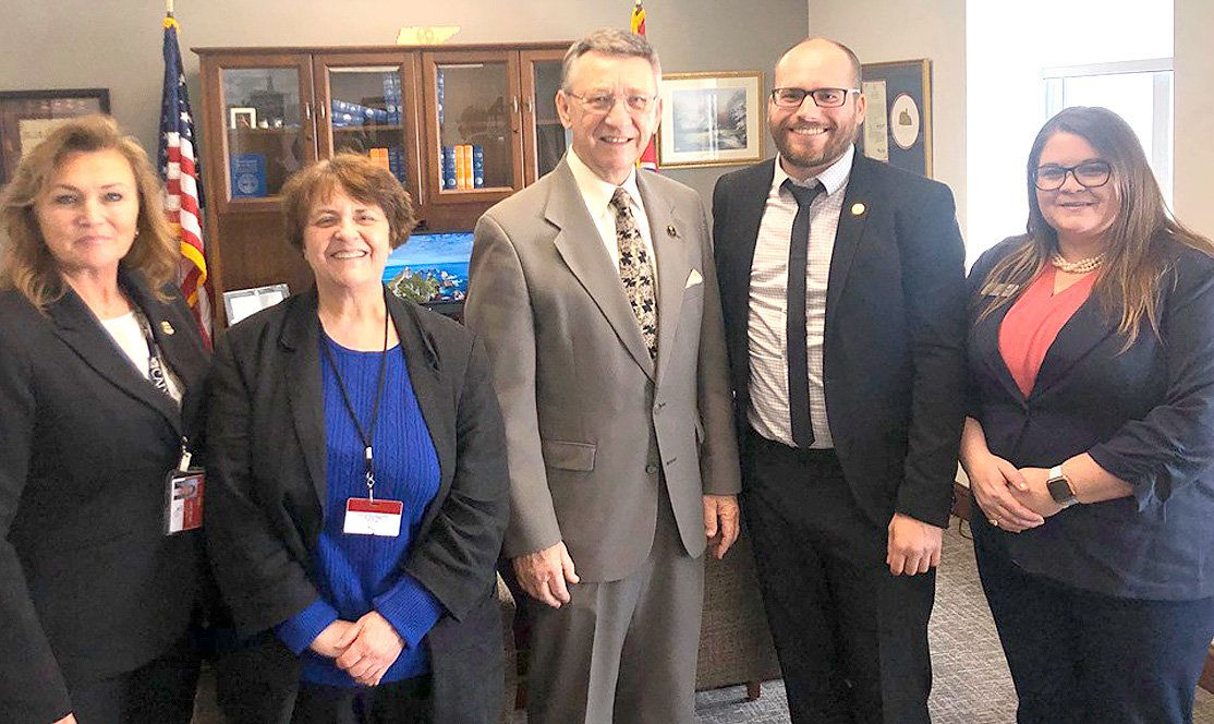 Bradley and Polk County CASA Representatives Meet with Lawmakers
