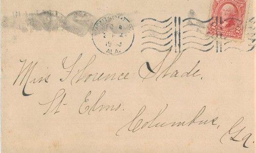 Envelope Addressed to Florence Slade at St. Elmo