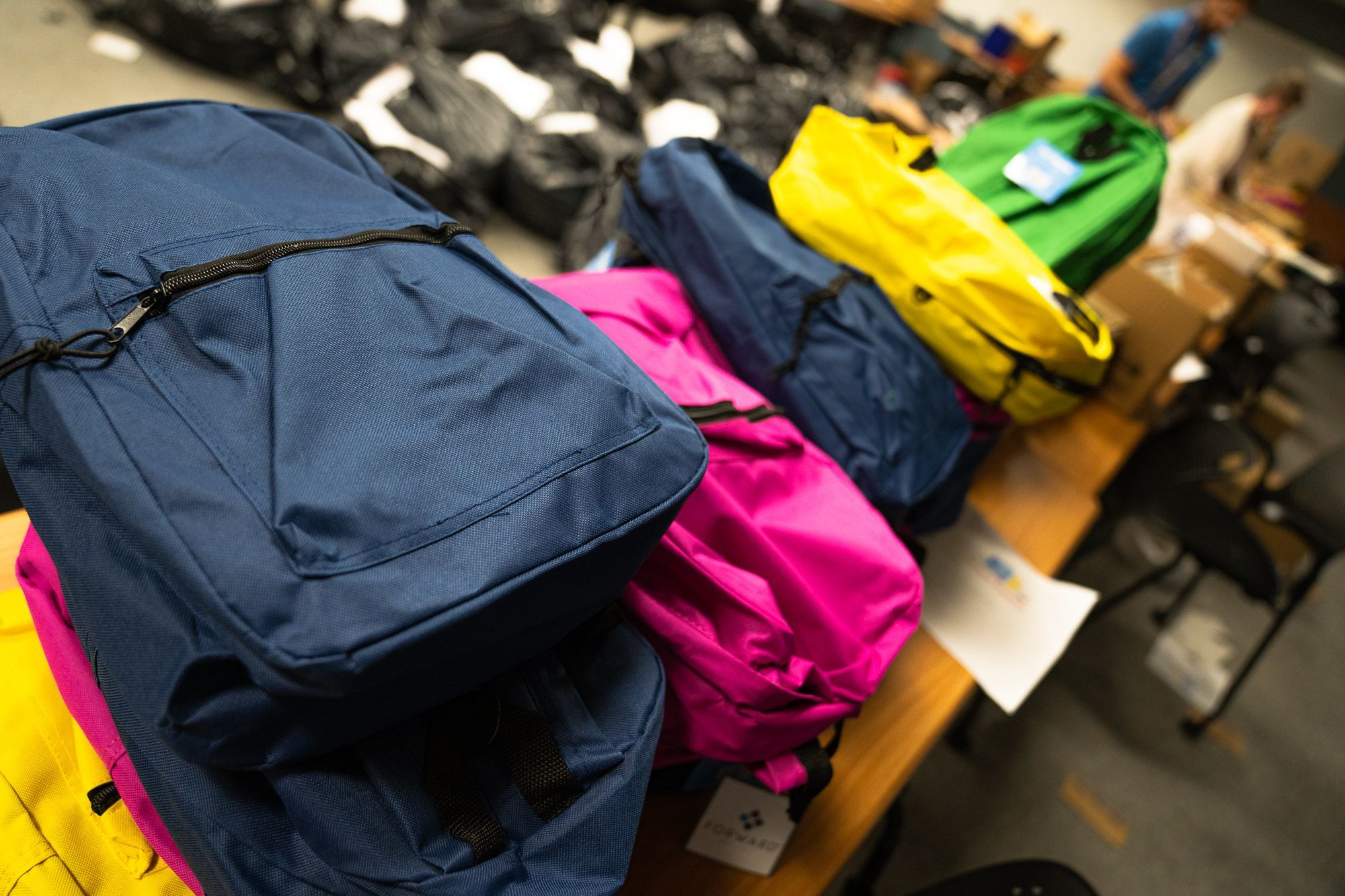CCSF donates more than 1,700 backpacks full of supplies to CCSD schools
