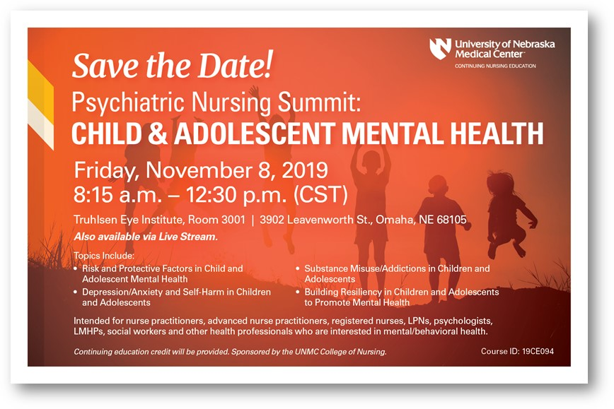 Psych Nursing Summit: Children and Adolscent Mental Health