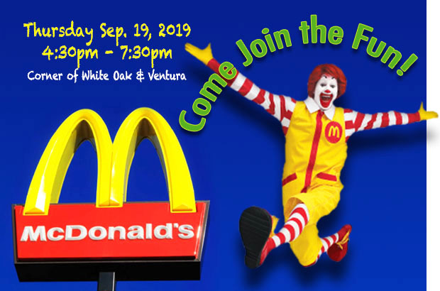 MCDONALD'S RESTAURANT NIGHT!