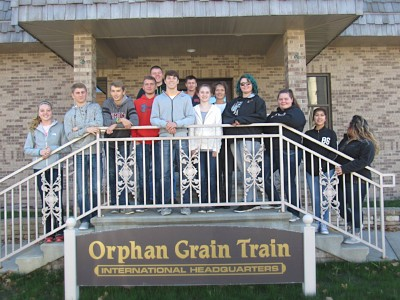 Students Visit OGT's Home Office