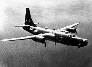 1950: Navy PB4Y-2 Privateer Patrol Bomber Shot Down.