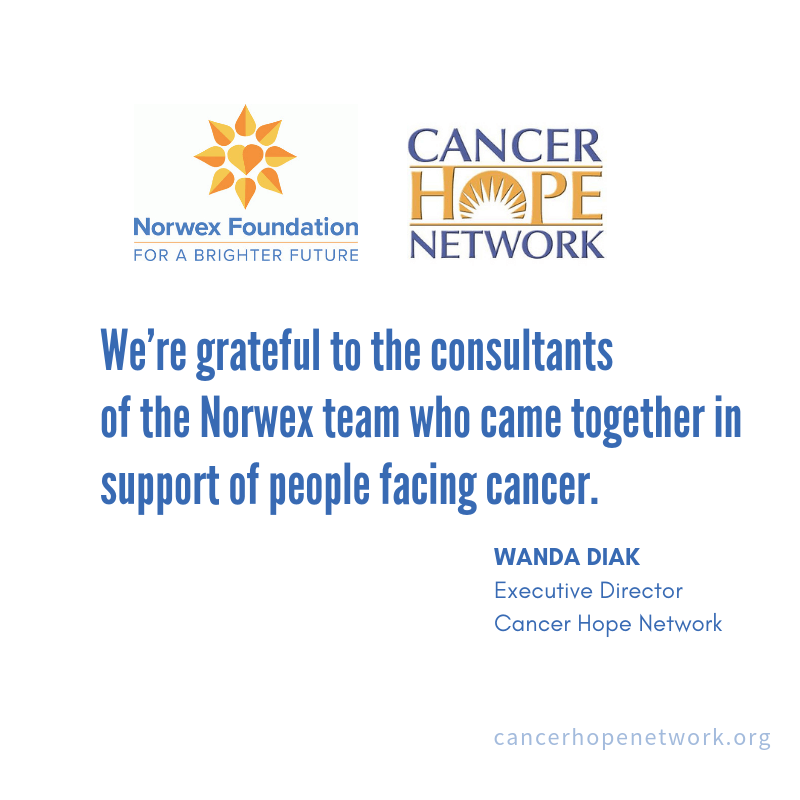 Norwex Raises $10K+ for Cancer Hope Network