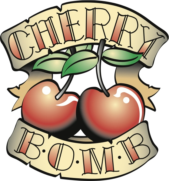 Cherry Bomb Car Decals