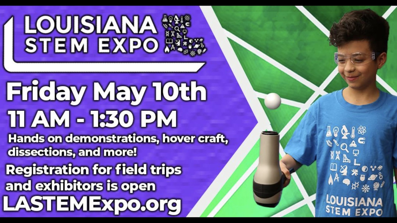 La STEM Expo May 10th