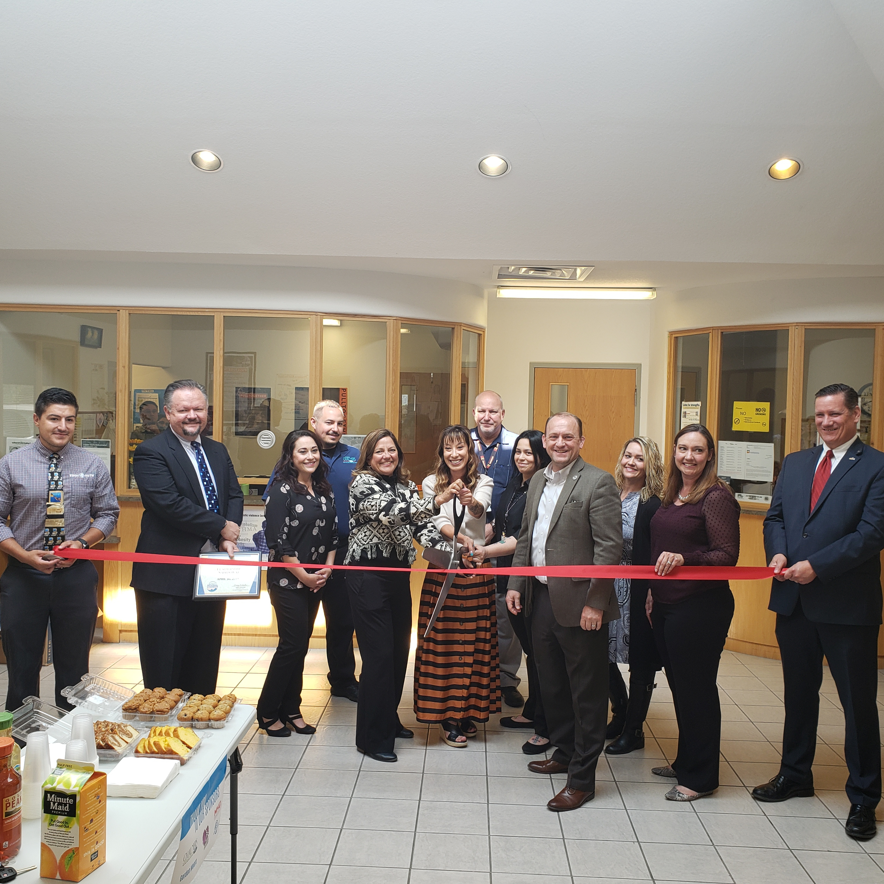 New CYFD Family Visit Rooms Ribbon Cutting