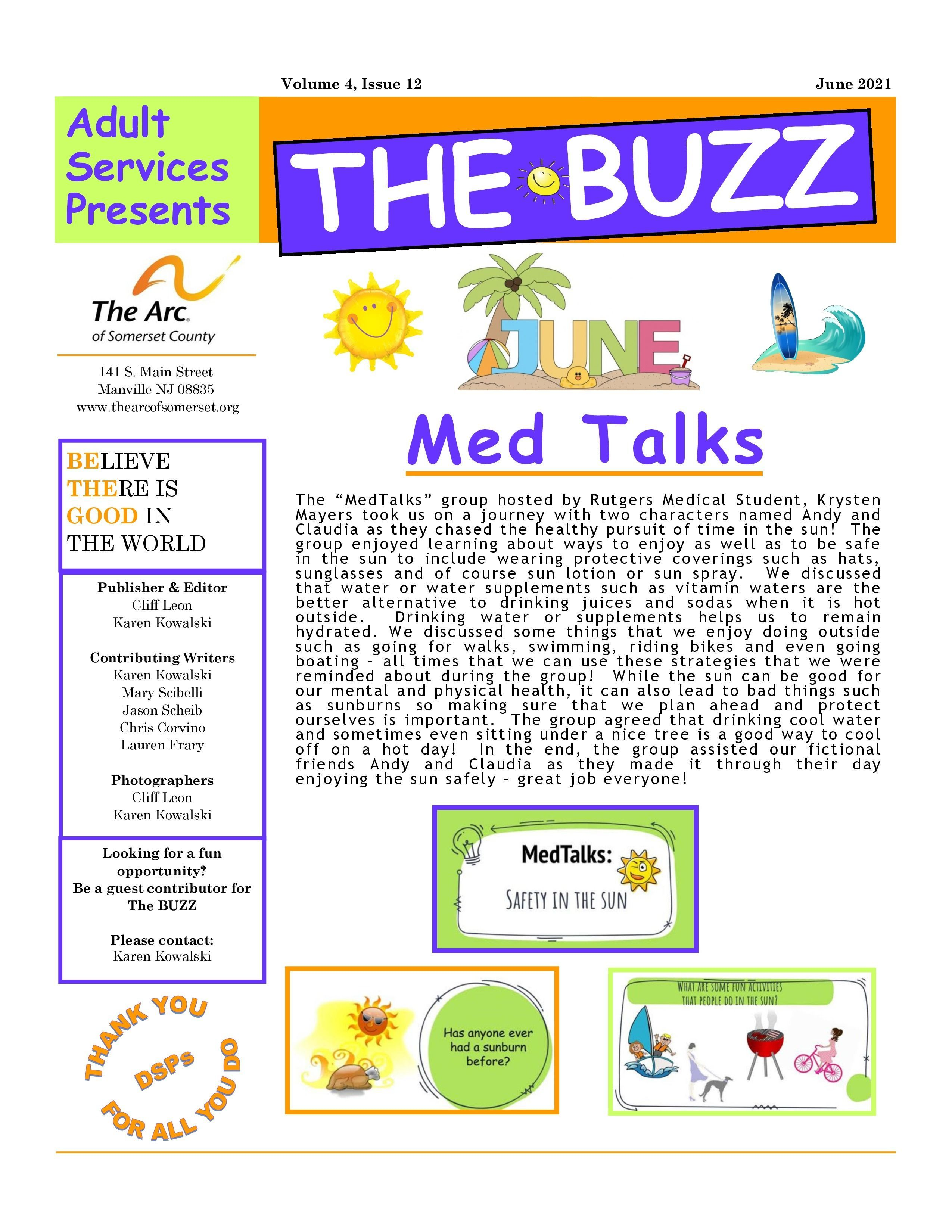 Check Out This Week's BUZZ  Newsletter - June 11 2021