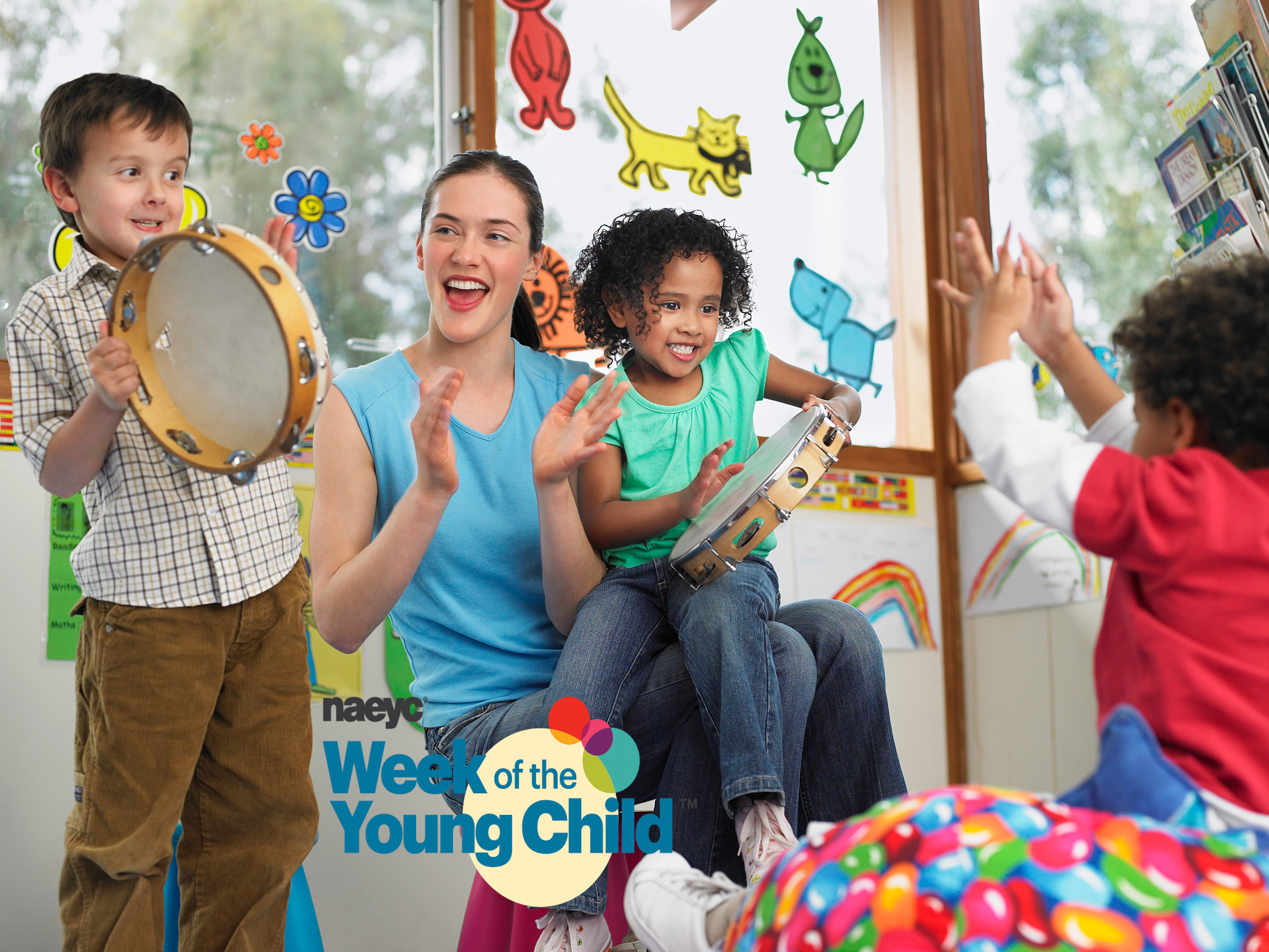 Our Hats Off to All Who Work with Young Children