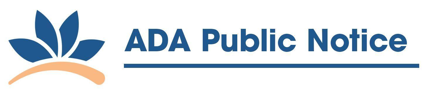 ADA Public Notice