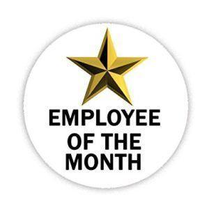 Nominations Due - Employee of the Month