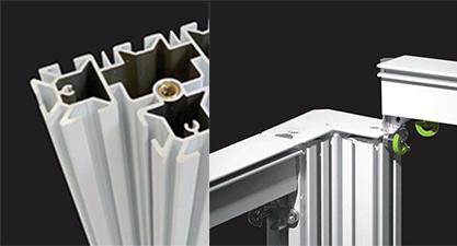 modular aluminum profiles