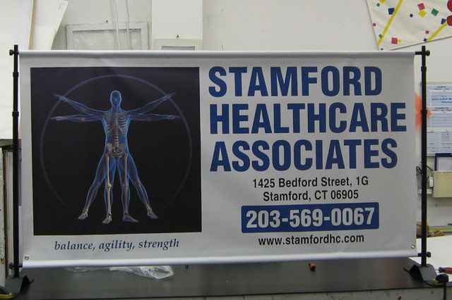 Healthcare event banner