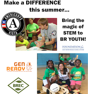 Make a difference this summer - to bring STEM to underrepresented youth