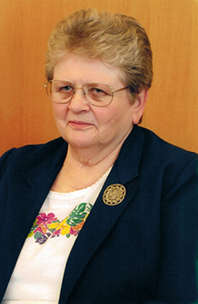 Sister Glenna Raybell, OSB - April 18, 2016
