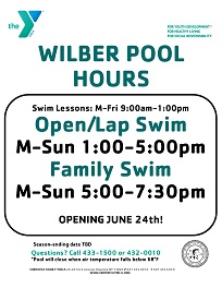 Wilber Park Pool 2017