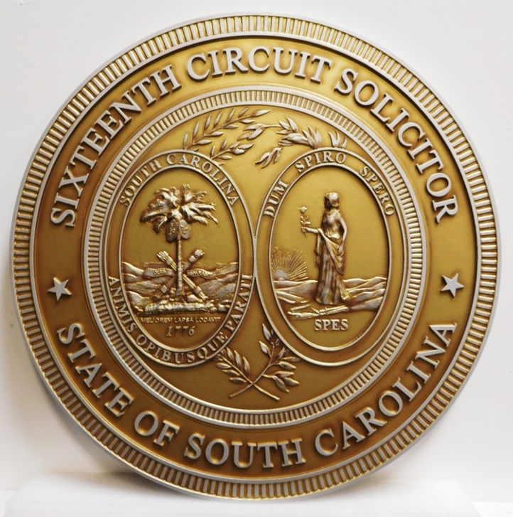 MB2229 - Great Seal of the State of Florida, 3-D