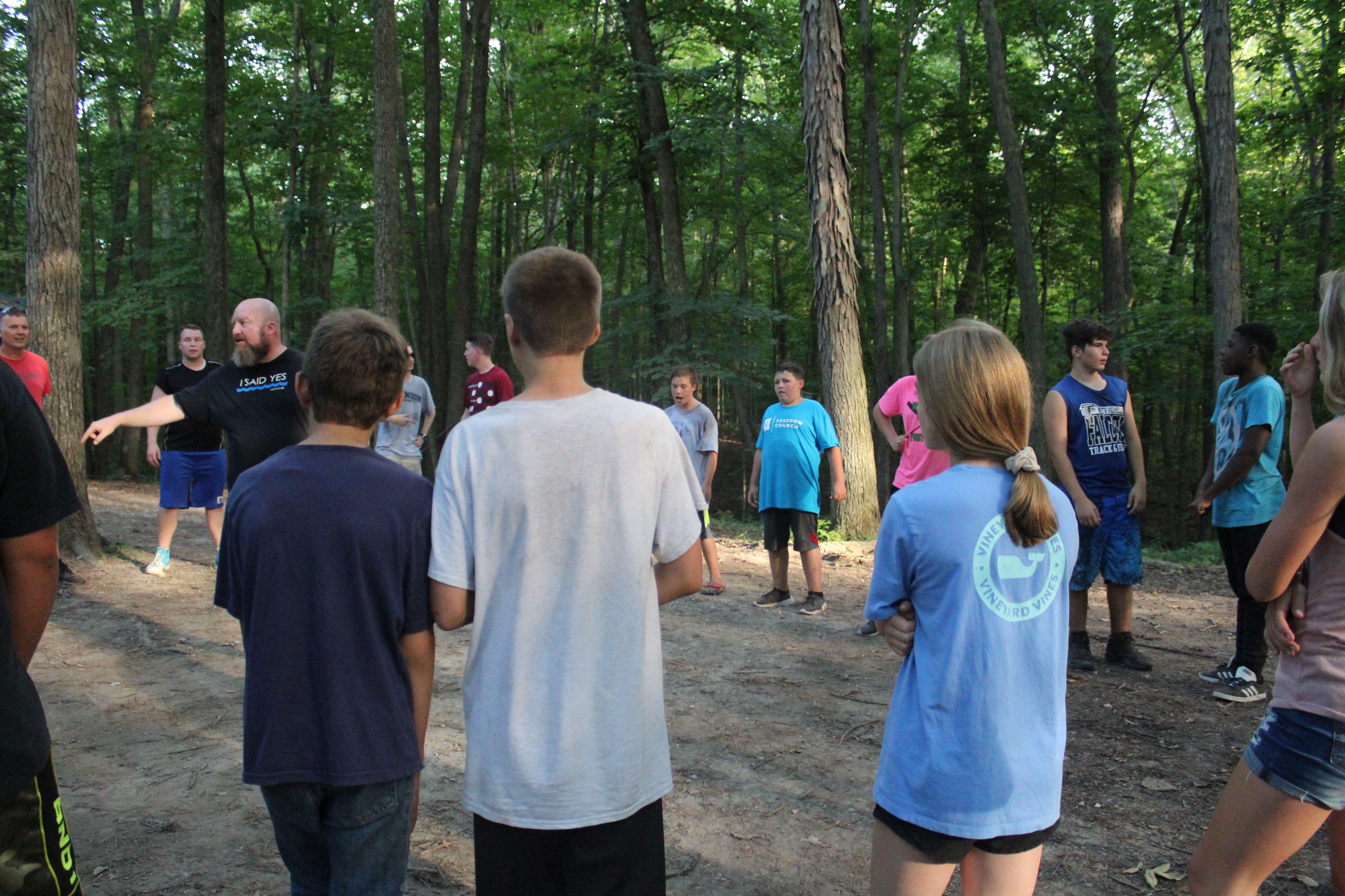 Jr High Wilderness Camp