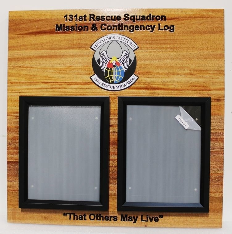 SB1038 - Award Board for 131st Rescue Squadron of the US Air Force