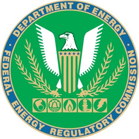 AP-6120 - Carved Plaque of the Seal of the Federal Energy Regulatory Commission, Artist Painted