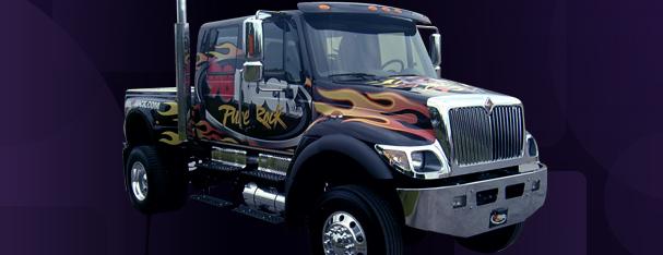 Vehicle -Truck Wrap - Semi Cab