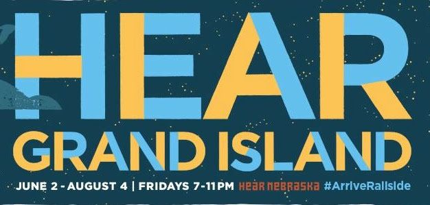 Announcing the 2017 Hear Grand Island lineup