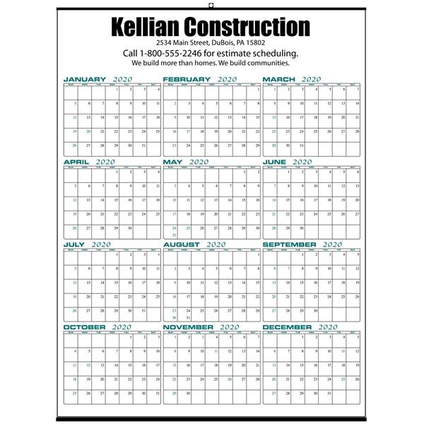Wall Memo Calendar