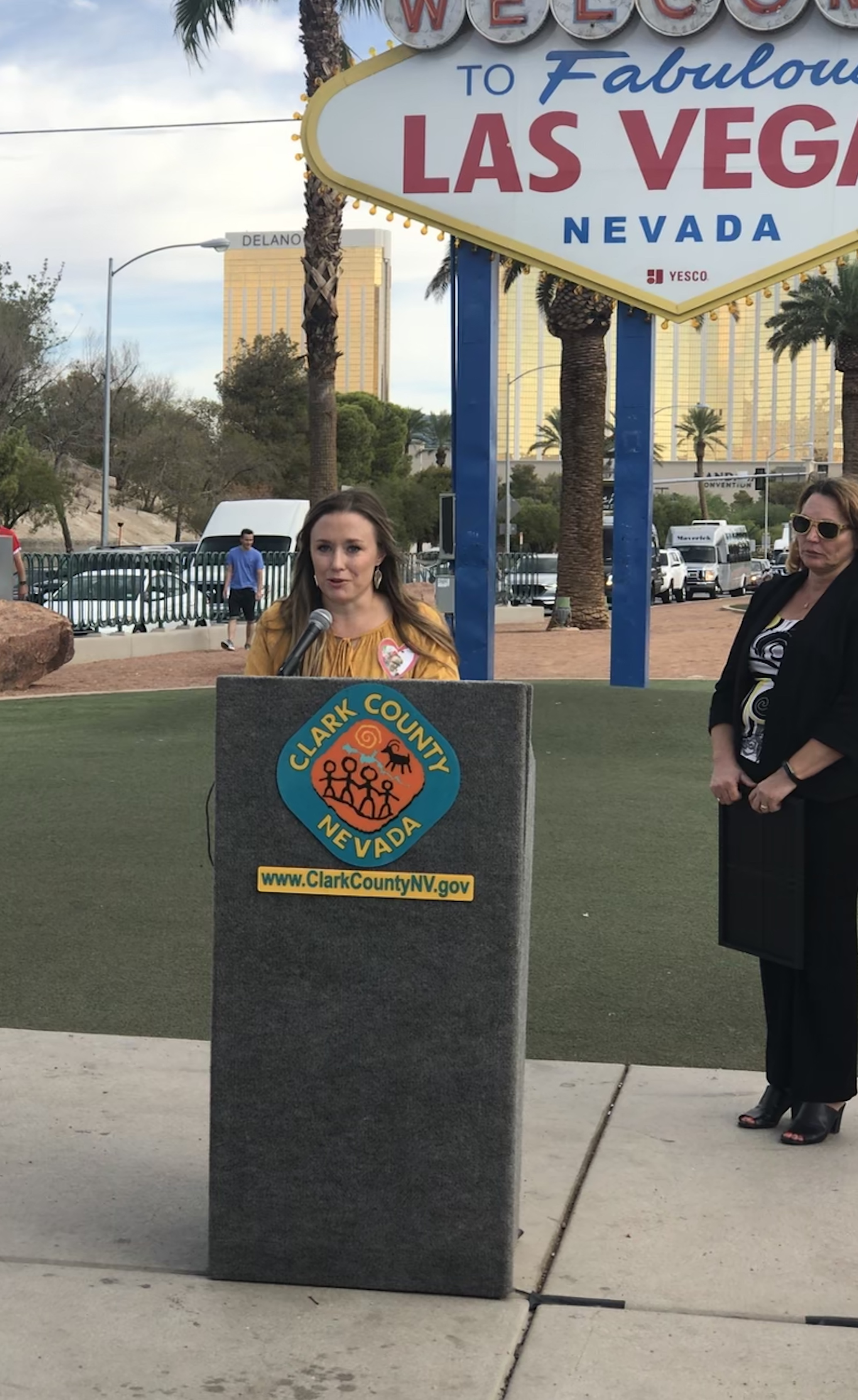 Fox 5 News: shineGOLD Welcome To Fabulous Las Vegas Sign Illumination