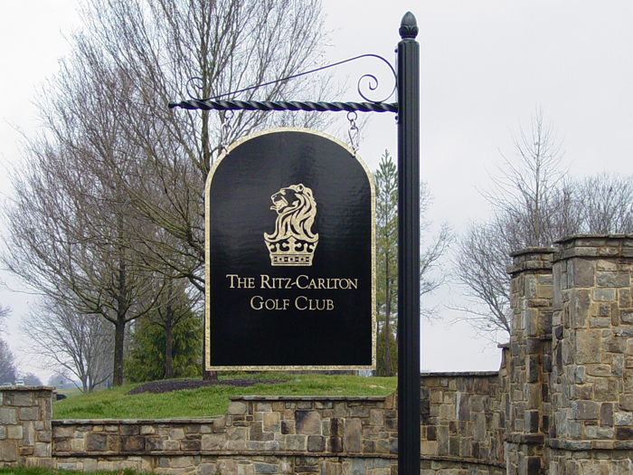Ritz-Carlton Golf Club Community Sign