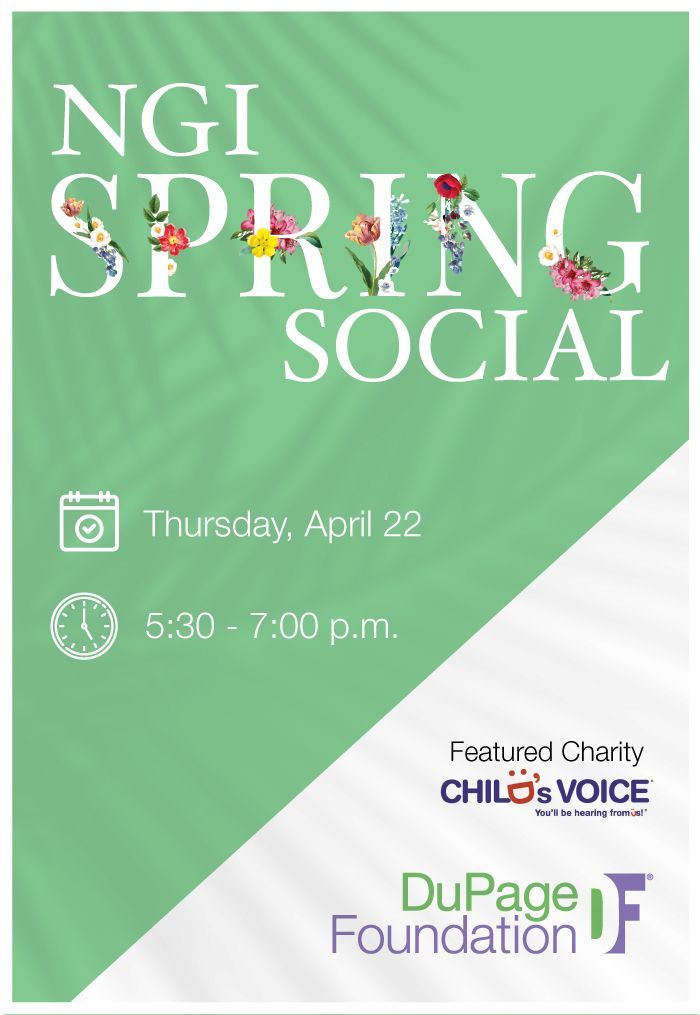 Next Generation Initiative (NGI) Spring Social featuring Child's Voice