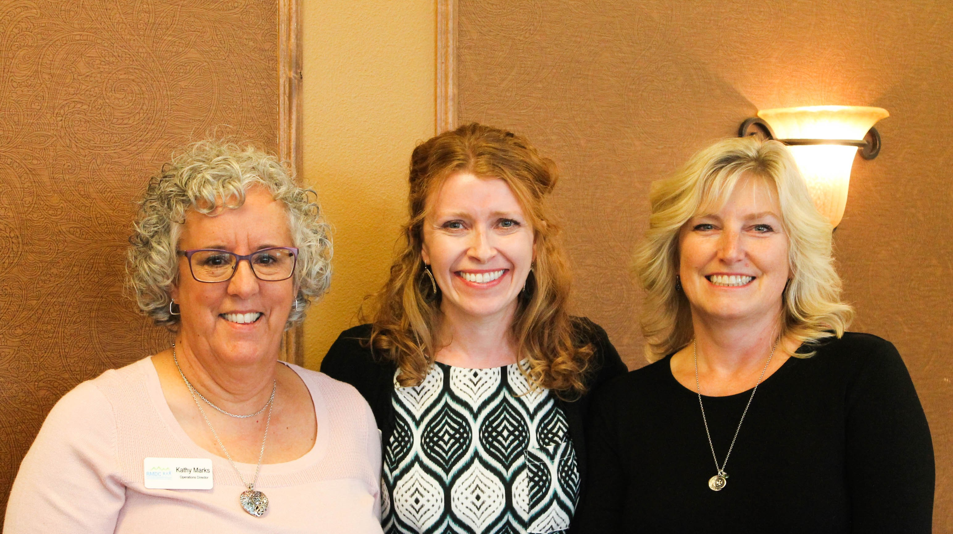 Photo of Lori, Kathy and Chrisy at Rocky first annual Bingo Bash!