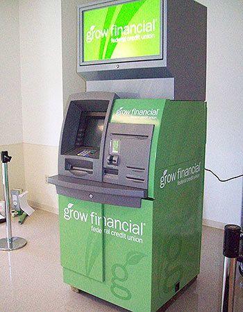 Digital Print Vinyl  ATM Wrap