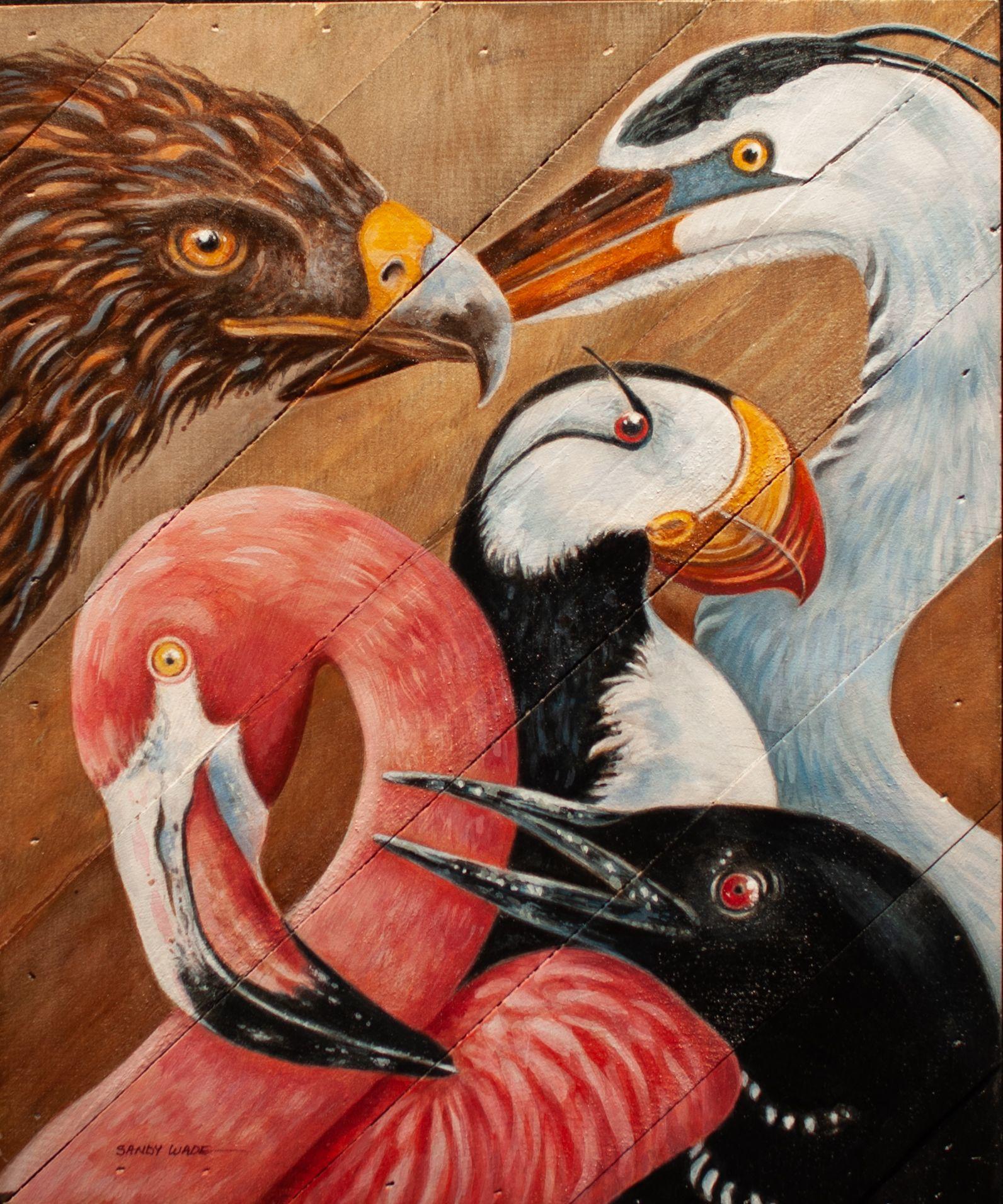 """Avian Medley"" - Sandy Wade"