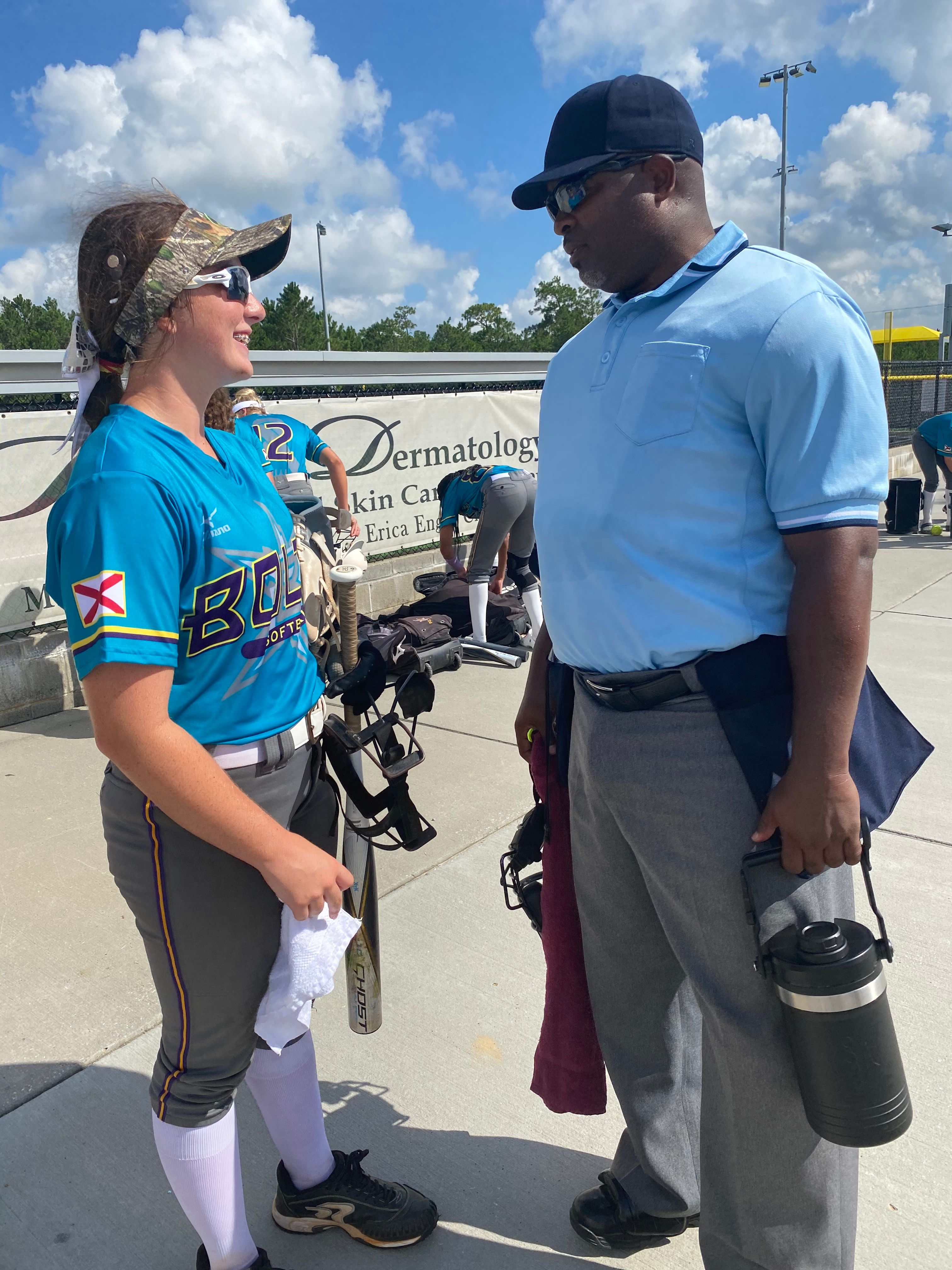 Lexi and the Umpire: Taking Time to Encourage One Another