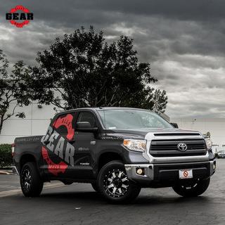 Promotional vehicle graphics Orange County